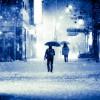 雪の日に早く出社する人と遅刻してくる人