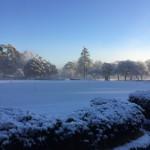 雪の日のゴルフ場〜クローズの判断はお早めに