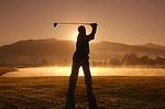 芝の上から練習をしたい場合には早朝ラウンドがおすすめ