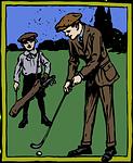 ゴルフでの「ナイスショット!」や「ナイスオン!」の声掛け。競技のときはまずは控えめに。