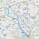 25分の道のりも戦略を間違えると2時間に。平日朝に都心に車で向かうということ。