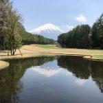 富士桜カントリー倶楽部で初ラウンド。夏のトーナメントを見るのが楽しみに。