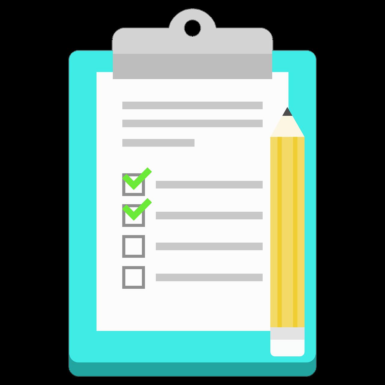 契約書などの重要な書類はリストを作って定期的に更新することが大切。